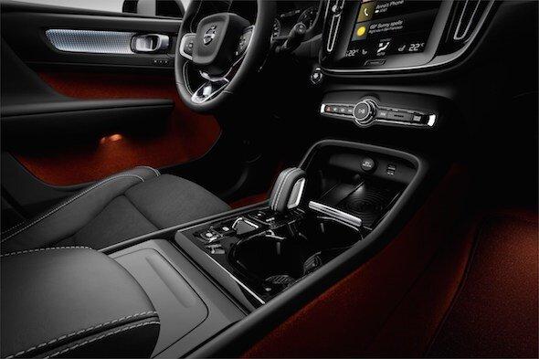 Volvo'nun kompakt Premium SUV modeli XC40 Tanıtım Yapıldı