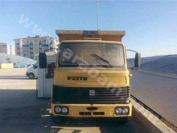 1992 MODEL BMC FATİH 162-25 FDT DAMPERLİ KAMYON