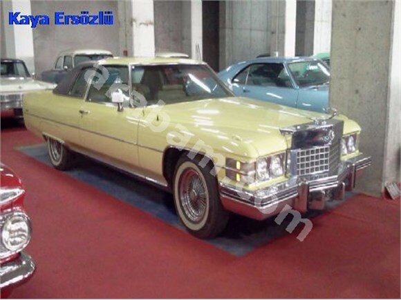CADILLAC Coupe Deville 1974
