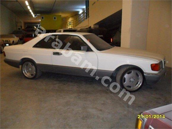 MERCEDES   W126  1983 500 SEC