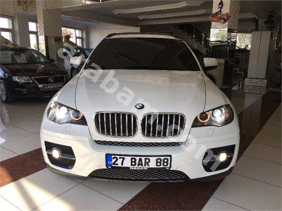 BARON PLAZA'Dan 2011 BMW X6 4.0 X-DRİVE BOYASIZ BEYAZ İÇİ TABA