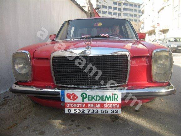 pekdemir otomotiv-mercedes-115 kasa-200-1974 m-kirmizi
