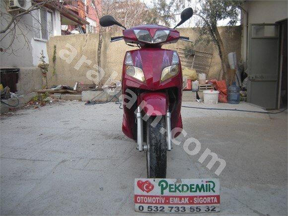 PEKDEMİR OTOMOTİV-MOTOSİKLET-KANUNİ-150 LİK-10 BİN KM-2008 M-KIRMIZI