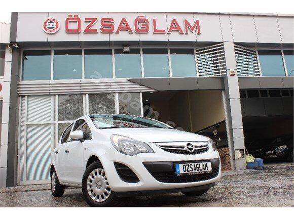 Özsağlam'dan 2014 Opel Corsa 1.3 Dizel Boyasız Beyaz 109 binde