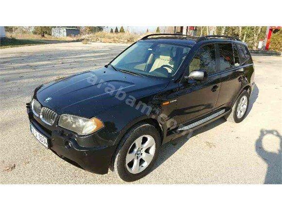 2005 BMW X3 2.0D DİZEL 150hp 4x4 6 İLERİ MANUEL BAKIMLI KAZASIZ