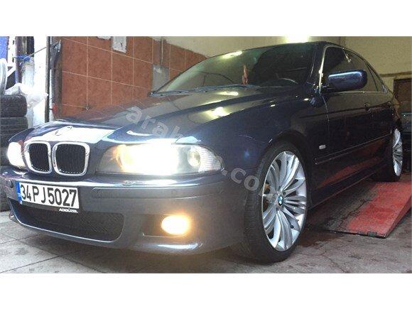 2002 BMW E39 520ia BEJ DÖŞEME 19 JANT CAM GİBİ