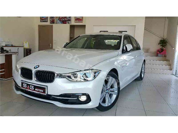 **S&G MOTORS** 2016 BMW 320 İED SPORTLİNE PLUS  18.000KM
