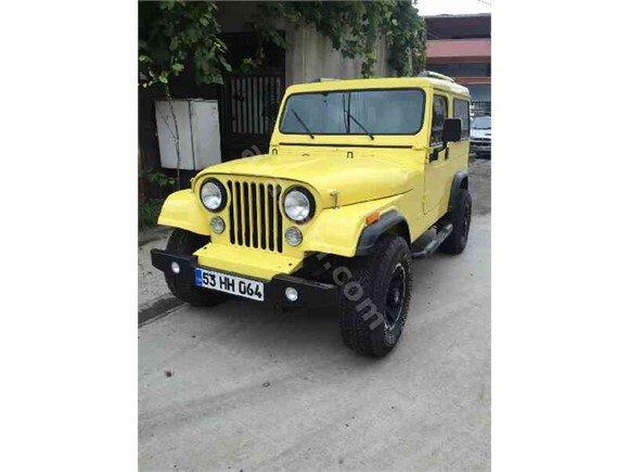 Emsalsıl Jeep Cj8