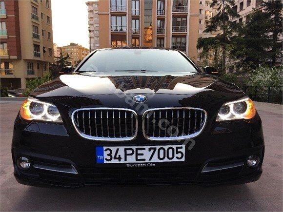 SONGURLAR - 2016 BMW 5.20İ PREMİUM SİYAH 9.000KM BOYASIZ TAKAS