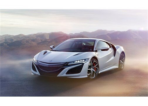 Honda NSX 3.5 DOCH V6 Twin Turbo  DCT
