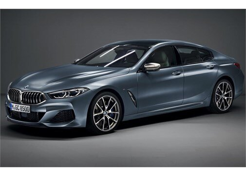 BMW 8 serisi Gran Coupe